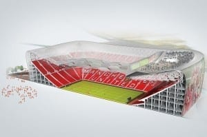 manchester united gets an upgrade