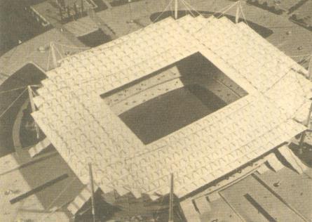 Proyecto nuevo estadio Real Madrid 1973