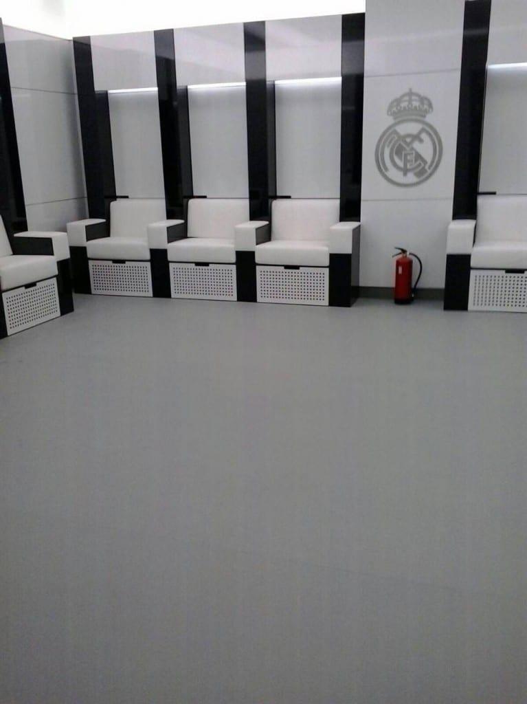 VESTUARIOS REAL MADRID