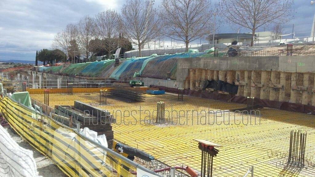 Obras febrero 2016 cuartel general ciudad Real Madrid