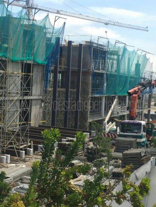 Obras junio 2016 cuartel general ciudad Real Madrid