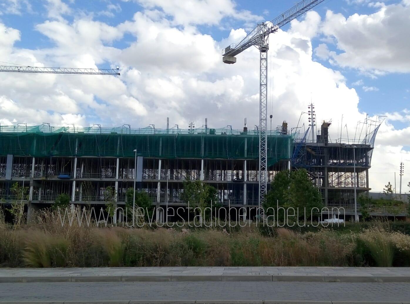 Obras junio cuartel general ciudad Real Madrid