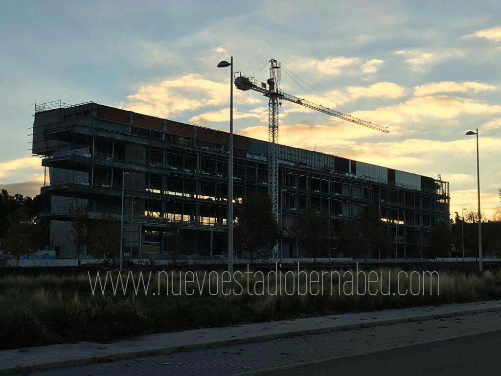 Evolución de las obras del cuartel general del Real Madrid en Valdebebas  1d4e6c6e757fa